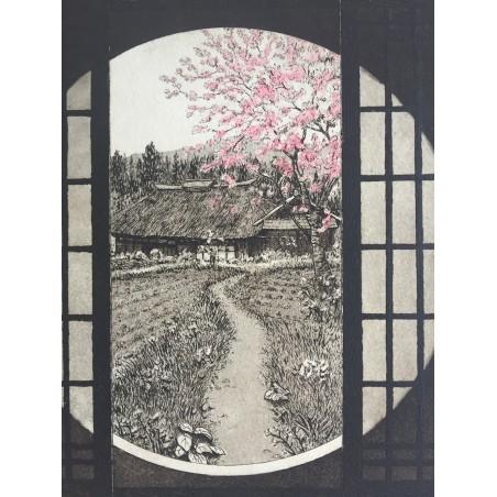 Kunisada Utagawa l'acteur Ichikawa Kuzô II