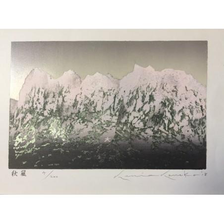 Hasui Kawase - l'étang de Shiba Benten
